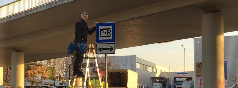 Die Mainzer Straße bekommt einen neuen Park & Ride-Parkplatz