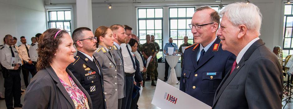Organisatoren des deutsch-amerikanischen Freundschaftsfestes werden geehrt