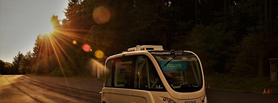 Selbstfahrender Elektrobus ab 6. August im Einsatz