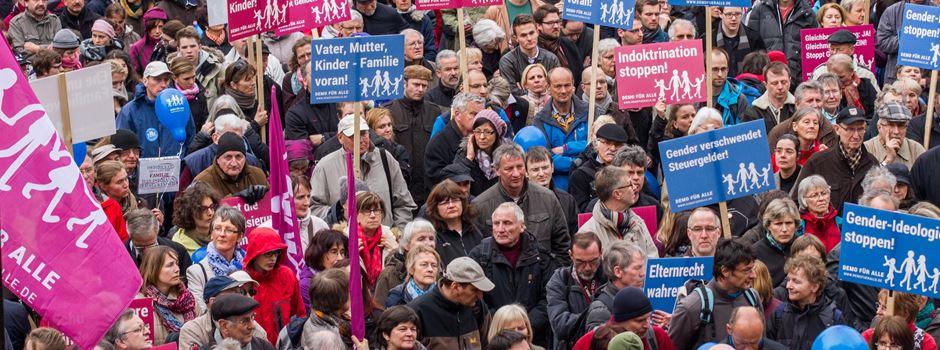 """Schon wieder: Umstrittene """"Demo für alle"""" kommt nach Wiesbaden"""