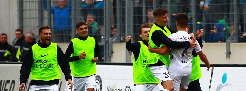 SV Elversberg tritt im letzten Hinrunden-Spiel in Alzenau an