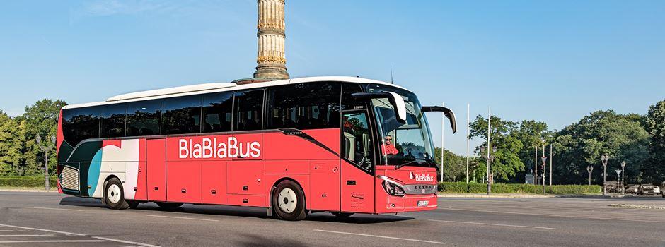 Blablabus kommt für 99 Cent nach Frankfurt