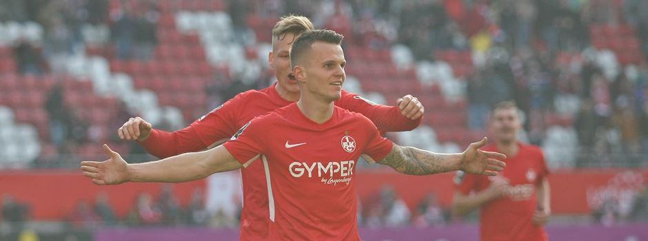 Befreiungsschlag in Kaiserslautern! 2:0 gegen Hansa Rostock
