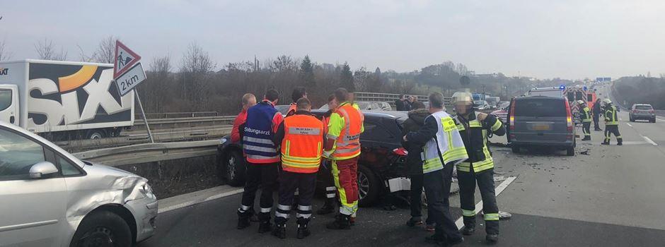 Schwerer Unfall auf A3 sorgt für lange Staus