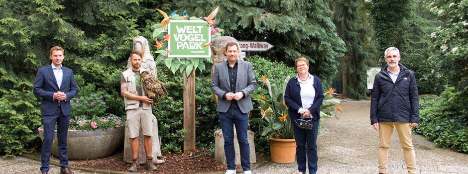 20 Millionen Euro zur Unterstützung von Zoos, Tiergärten und Wildgehegen
