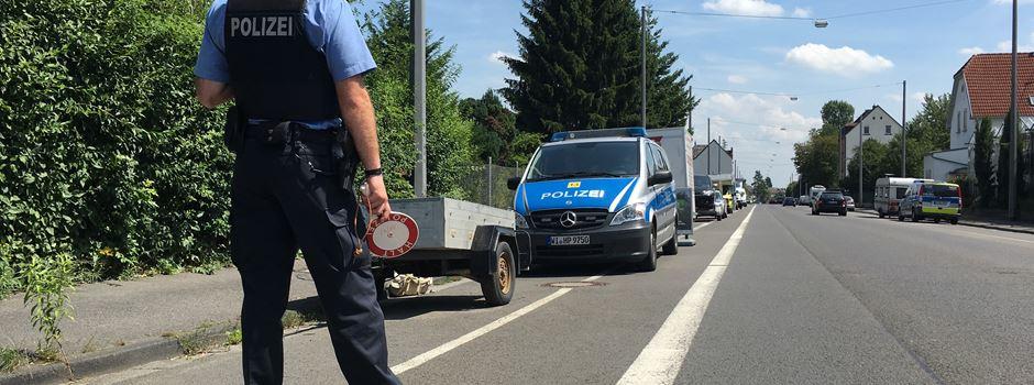 Polizei verhängt 193 Fahrverbote bei Verkehrskontrolle