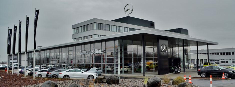 mercedes benz er ffnet neues autohaus in mainz. Black Bedroom Furniture Sets. Home Design Ideas