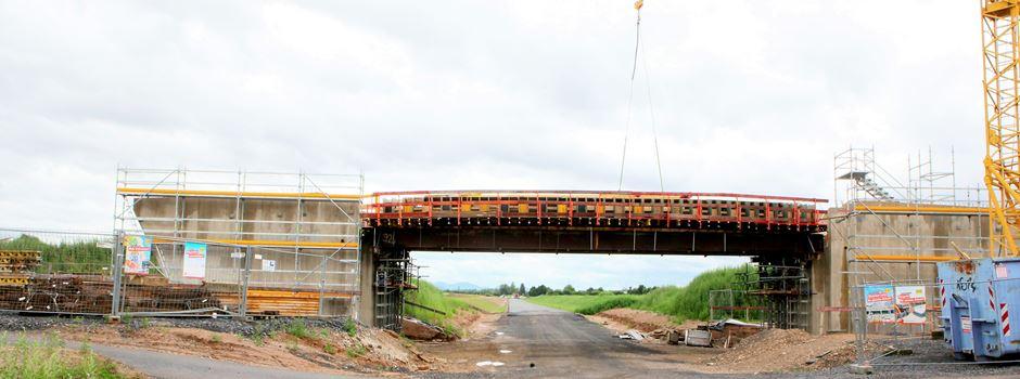 L269n Süd: große Fortschritte beim 1. Bauabschnitt