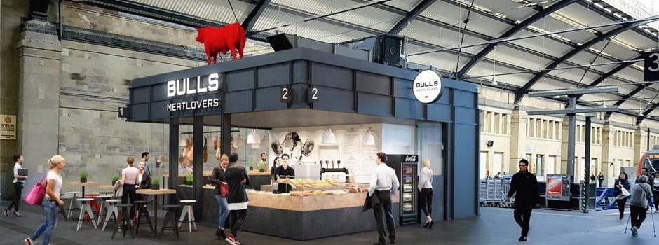 """""""Bulls Meatlovers"""" im Hauptbahnhof steht vor der Wiedereröffnung"""