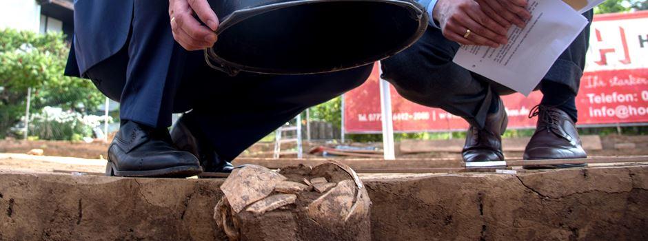 Steinzeit-Schädel in Harheim gefunden