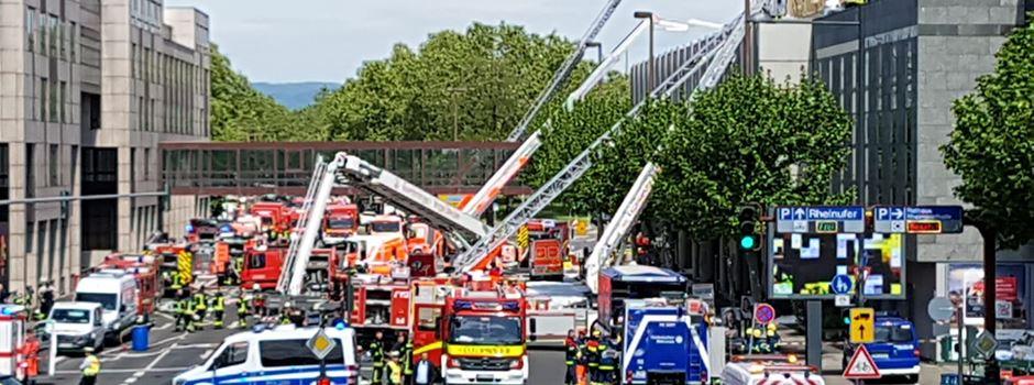 Ursache für Brand in Rheingoldhalle geklärt