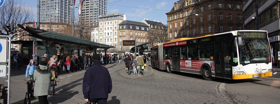 Fahrgast attackiert Mainzer Busfahrer