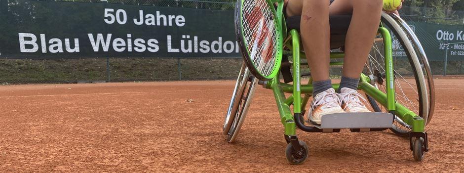TC Blau-Weiß Lülsdorf bietet auch Rollstuhltennis an