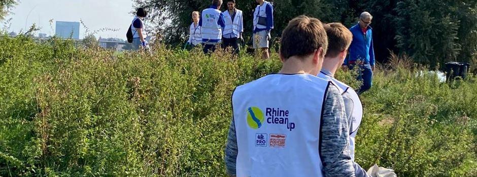 Am Samstag wird das Wiesbadener Rheinufer vom Müll befreit