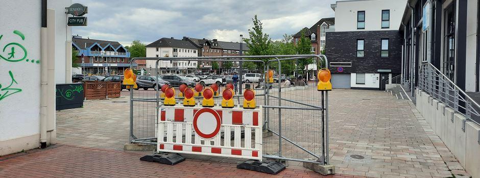 Marktplatz: Durchfahrt gesperrt, Linksabbieger gestrichen