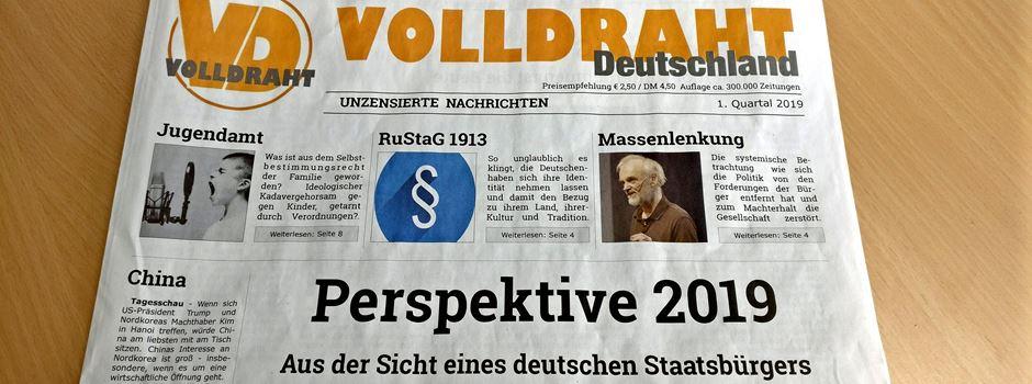"""Aufregung um """"Volldraht""""-Zeitung in Mainzer Briefkästen"""