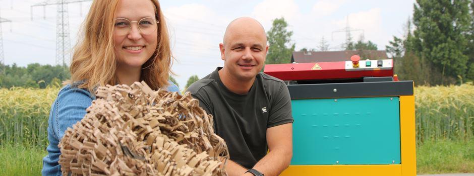 """Erst belächelt, jetzt dick im Geschäft: Nachhaltig verpacken """"made in"""" Waltrop"""