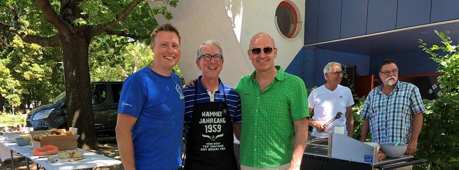 Oliver Mager organisiert Grillen für den guten Zweck