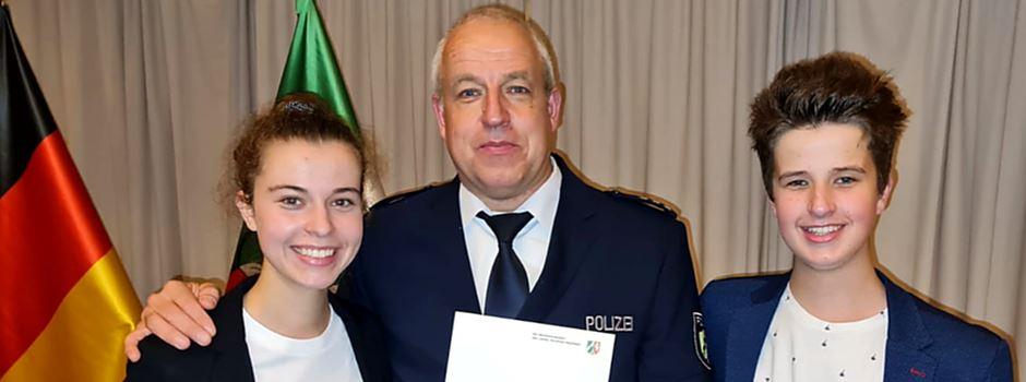 Ranzeler Polizeihauptkommissar erhielt Rettungsmedaille des Landes NRW