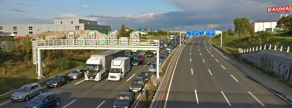Hechtsheimer Autobahntunnel kurzzeitig gesperrt