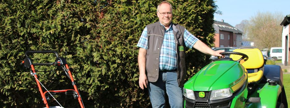 Pünktlich vor Ostern: Saison-Start für die Rasenmäher