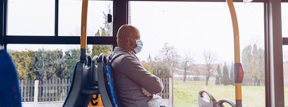 """Busfahrer: """"Immer mehr Fahrgäste tragen keine Maske"""""""