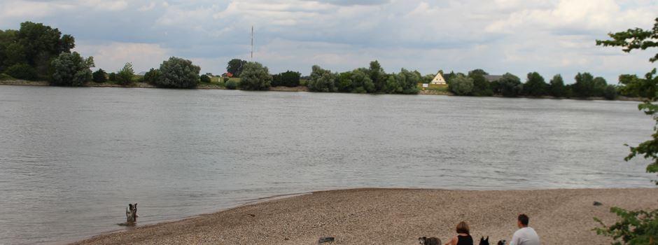 Mann (83) im Rhein löst Großeinsatz aus
