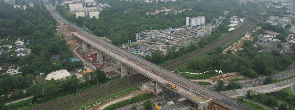 Salzbachtalbrücke wird wohl doch später gesprengt als geplant