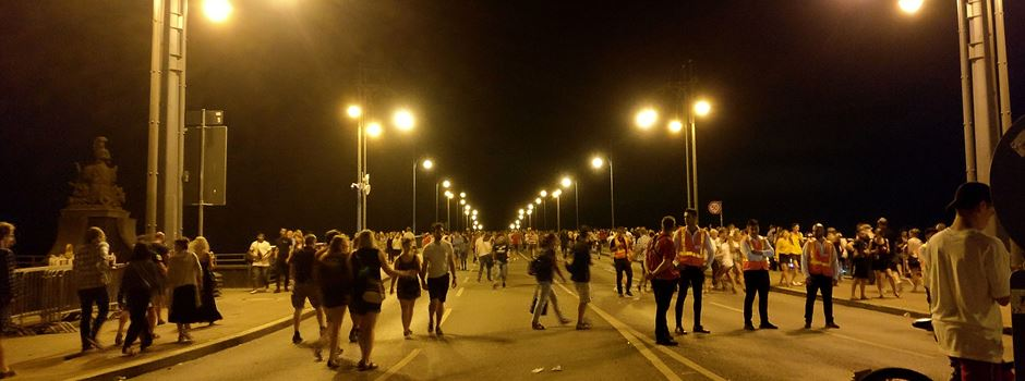 Wo es am Sommerlichter-Samstag Straßensperrungen gibt