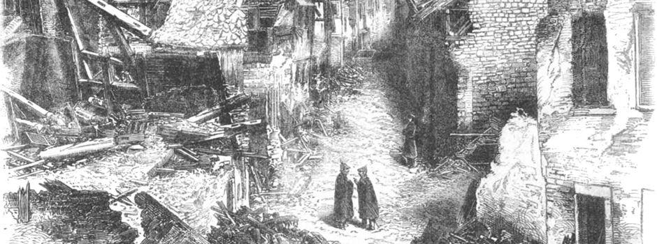 Als eine Riesen-Explosion Mainz erschütterte