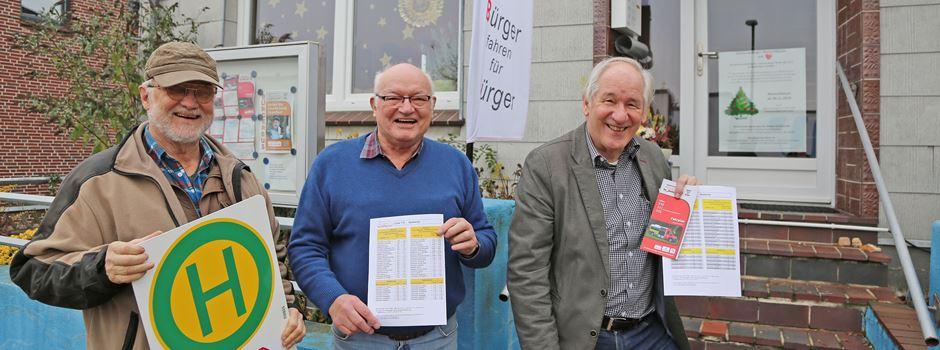 Bürgerbus: Preise bleiben unverändert, neuer Fahrplan gilt ab 16. Dezember