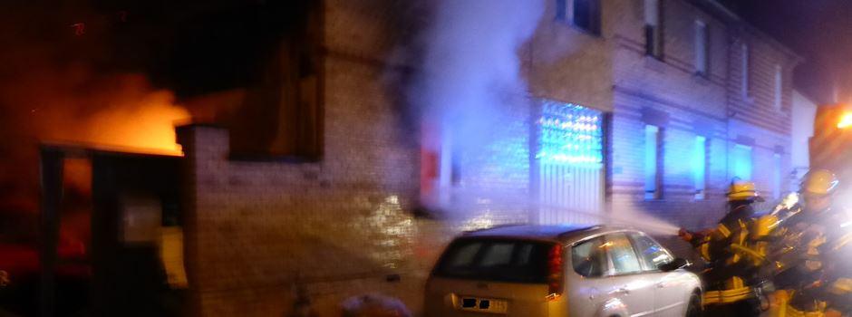 Großeinsatz der Feuerwehr in Bretzenheim