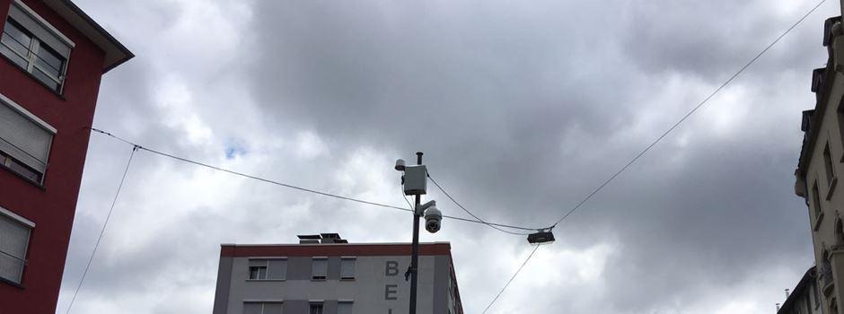 Videoüberwachungskamera im Allerheiligenviertel eingeweiht
