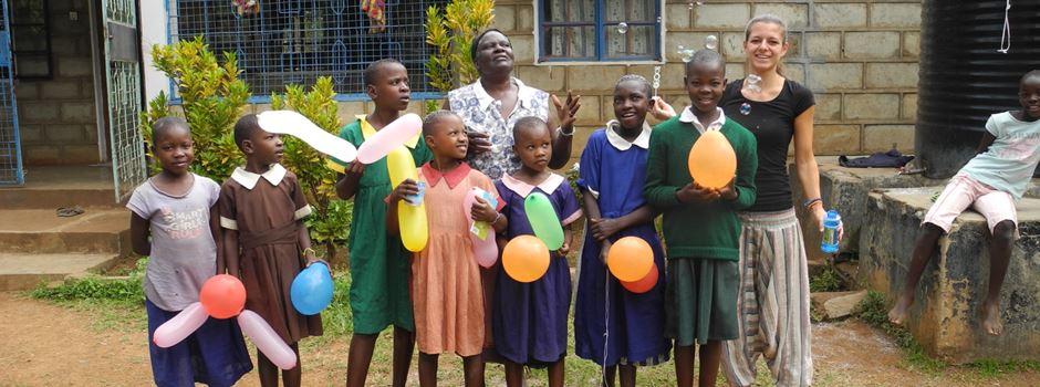 Wie eine Mainzerin ein Waisenhaus in Kenia bauen will
