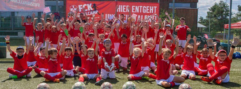 Fußball Camp des 1. FC Kaiserslautern