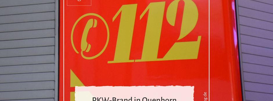 PKW-Brand in Quenhorn