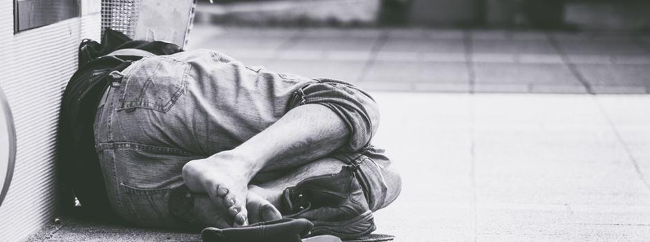 Trauerfeier für verstorbene Obdachlose in Wiesbaden