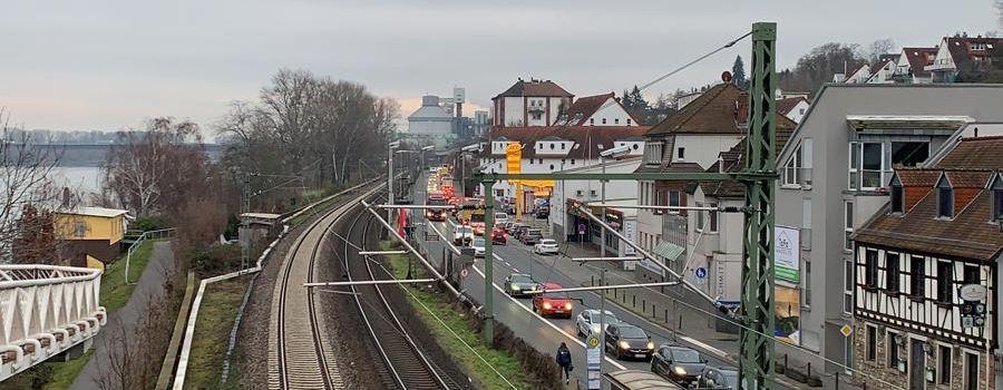 Brückensperrung: Staus um Mainz und Wiesbaden