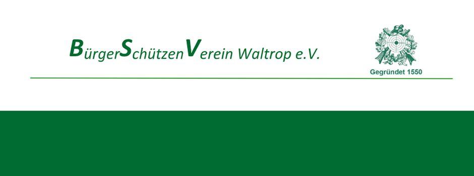 BSV Waltrop: Schützenfest ist terminiert - JHV am Samstag in der Stadthalle