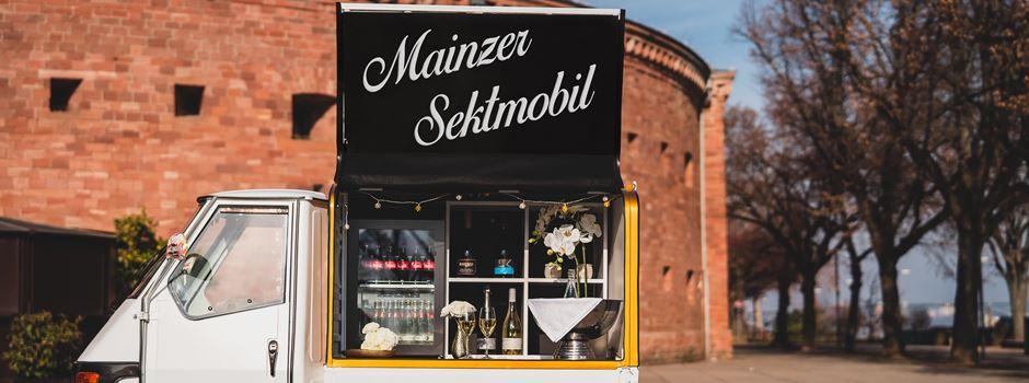 In Mainz gibt es jetzt ein Sektmobil