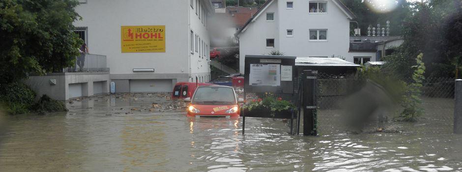"""""""Das hat es so noch nicht gegeben"""" - Als Wiesbaden 2014 im Regen versank"""