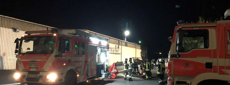 Brand in Schierstein löst Großeinsatz in der Nacht aus