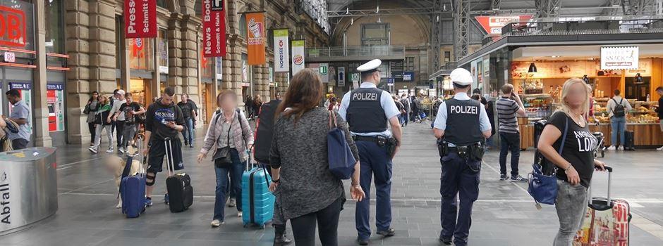 Drei Verhaftungen im Hauptbahnhof