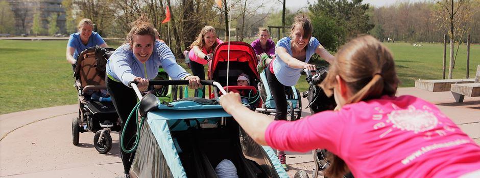 LAUFMAMALAUF: fit mit Kind und Kegel