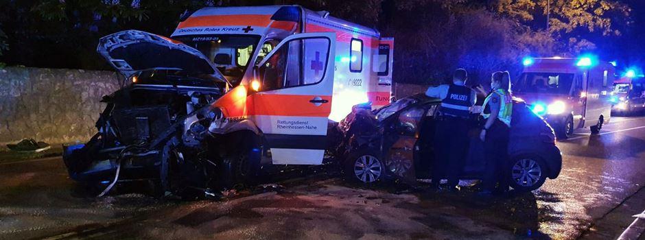 Eine Tote und vier Verletzte nach schwerem Unfall in Nierstein