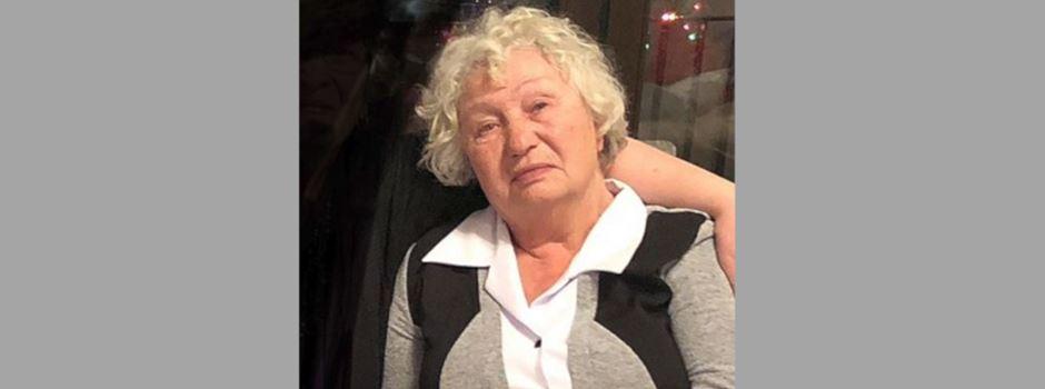 78-jährige Frau in Frankfurt vermisst
