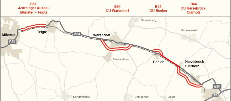 """Ein Jahr 4zu1: """"4zu1"""" Ost-Münsterland-Verbindung"""