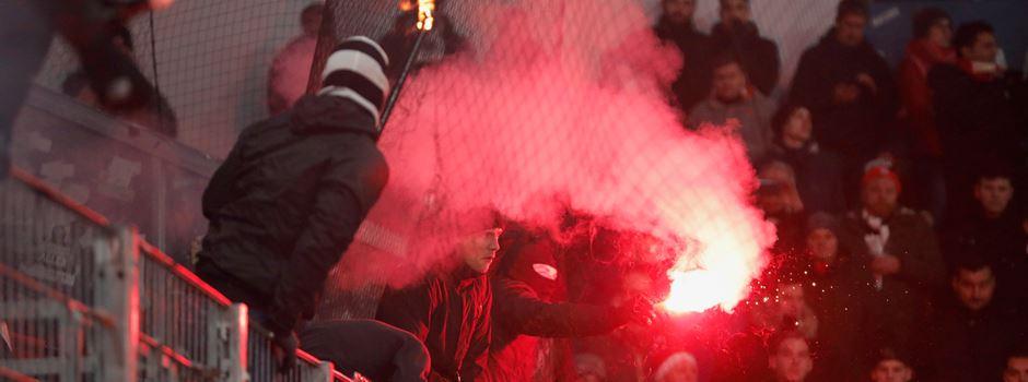 Polizei Mainz ermittelt gegen Pyro-Chaoten
