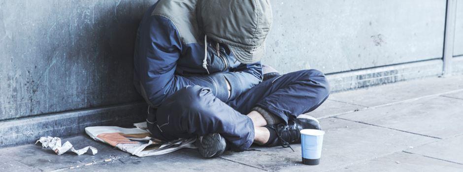 Viele Obdachlose während Corona-Krise besonders gefährdet