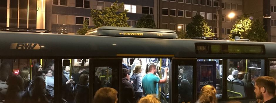 51-Jähriger schlägt Busfahrer gegen die Brust